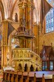 Innenraum Matthias Churchs ist eine Römisch-katholische Kirche, die in Budapest gelegen ist Lizenzfreies Stockfoto