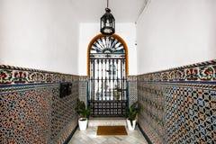 Innenraum in Sevilla, Spanien Lizenzfreie Stockfotos