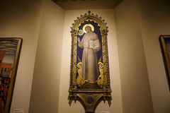 Innenraum und Details von Siena-Kathedrale, Siena, Italien Lizenzfreies Stockbild