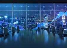 Innenraum und Diagramm Lizenzfreies Stockfoto