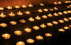 Innenraum von Aachen-Kathedrale, Deutschland Lizenzfreie Stockfotografie