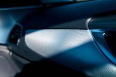 Innenraum von Audi A6 lizenzfreies stockbild