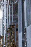 Innenraum von Basilika St Peter s, Vatikan, Rom Stockbild
