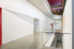 Innenraum von Berkeley Art Museum und von pazifischem Film-Archiv Stockbild