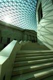 Innenraum von British Museum Lizenzfreie Stockfotos