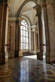 Innenraum von Caserta-Palast Stockfotografie