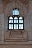 Innenraum von Castel del Monte, Apulien, Italien Lizenzfreies Stockbild