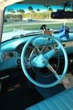 Innenraum von Chevrolet â55 Bel Air Lizenzfreies Stockfoto