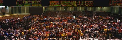 Innenraum von ChicagoHandelskammer Lizenzfreie Stockfotos