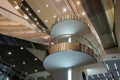 Innenraum von Domodedovo-Flughafen Lizenzfreie Stockfotografie