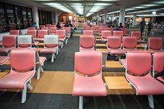 Innenraum von Don Muang International Airport Stockfotografie