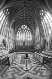 Innenraum von Exeter-Kathedrale Lizenzfreies Stockbild