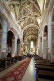 Innenraum von Heilig-Martins Kirche Stockfoto