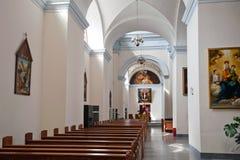 Kirche Francisco Xavier stockbilder