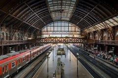 Innenraum von Luz Train Station - Sao Paulo, Brasilien stockfotografie