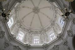 Innenraum von Mezquita-Catedral, UNESCO-Welterbestätte, Cordo Lizenzfreie Stockfotografie