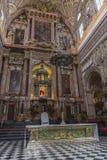 Innenraum von Mezquita-Catedral, UNESCO-Welterbestätte, Cordo Stockbilder