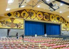 Innenraum von Mitchell Corn Palace Lizenzfreie Stockfotos