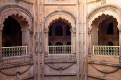 Innenraum von Mughal-Architektur Lizenzfreie Stockbilder