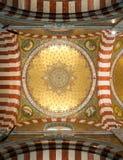 Innenraum von Notre Damede-La Garde Lizenzfreies Stockbild