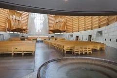 Innenraum von Oakland-Kathedrale von Christus das Licht Stockfoto