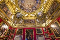 Innenraum von Palazzo Pitti, Florenz, Italien Lizenzfreies Stockbild