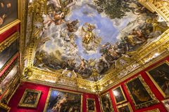 Innenraum von Palazzo Pitti, Florenz, Italien Stockfoto