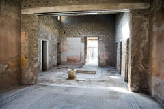 Innenraum von Pompeji-Haus Lizenzfreies Stockfoto