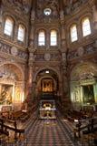 Innenraum von Santa Maria della Croce Lizenzfreie Stockbilder