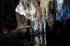 Innenraum von Skocjan-Höhlen, einer von UNESCO's natürlich und kulturell Lizenzfreies Stockfoto