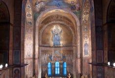 Innenraum von Sofia-Kathedrale in Kiew Lizenzfreies Stockfoto