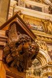 Innenraum von St. Isaac Cathedral Stockbilder