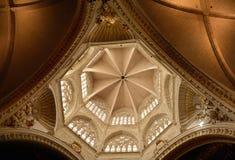 Innenraum von St. Mary Metropolitan Cathedral, Valencia Lizenzfreie Stockfotografie