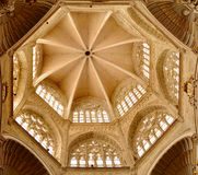 Innenraum von St. Mary Metropolitan Cathedral, Valencia Stockbilder