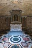 Innenraum von Tempietto errichtete durch Donato Bramante, Rom, Italien lizenzfreie stockfotos