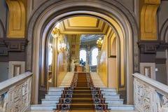 Innenraum von Vladimir Palace Es war der letzte Kaiserpalast zu Lizenzfreie Stockfotografie