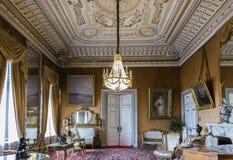 Innenraum von Vladimir Palace Es war der letzte Kaiserpalast zu Lizenzfreie Stockbilder