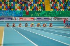 Innenschalen-Meisterschaften in Istanbul - der Türkei Lizenzfreie Stockbilder