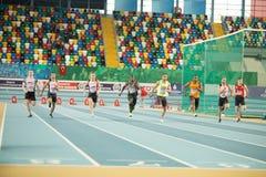 Innenschalen-Meisterschaften in Istanbul - der Türkei Lizenzfreie Stockfotos