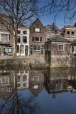 Innenstadt der Architektur Gouda Holland lizenzfreie stockfotos