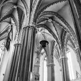 Innenstadt-Gemeinde-Kirche in Budapest stockfoto