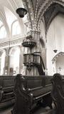 Innenstadt-Gemeinde-Kirche in Budapest lizenzfreie stockfotos