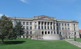 Innenstadt-Schulgebäude Lizenzfreies Stockfoto