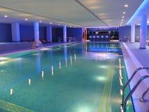 Innenswimmingpool Stockfotos