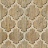 Innenwandmuster - abstraktes Dekorationsmaterial - arabischer Dekor - geometrische Muster stockfoto