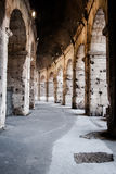 The inner arches of the Roman Colosseum Stock Images