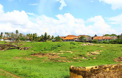 The inner area of Galle Fort Stock Images