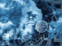 Inner Blue Stock Image