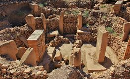 Inner Circle Gobekli Tepe Stock Photos