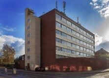 Inner city apartment block. A run down inner city apartment block Royalty Free Stock Images